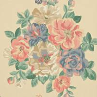 Midsummer Rose Wallpaper - Antique Rose