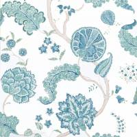 Palampore Wallpaper - Blue
