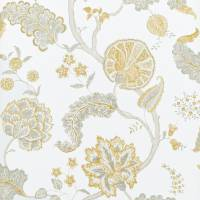 Palampore Wallpaper - Silver/Gold