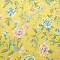 Porcelain Garden Wallpaper - Rose/Linden