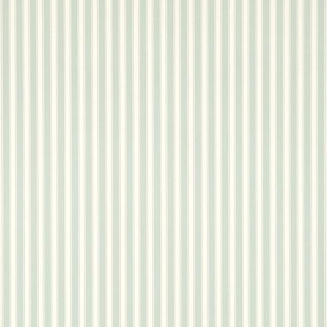 Sanderson Caverley Wallpapers New Tiger Stripe Wallpaper Eau De Nil