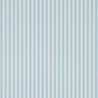New Tiger Stripe Wallpaper - Blue/Ivory