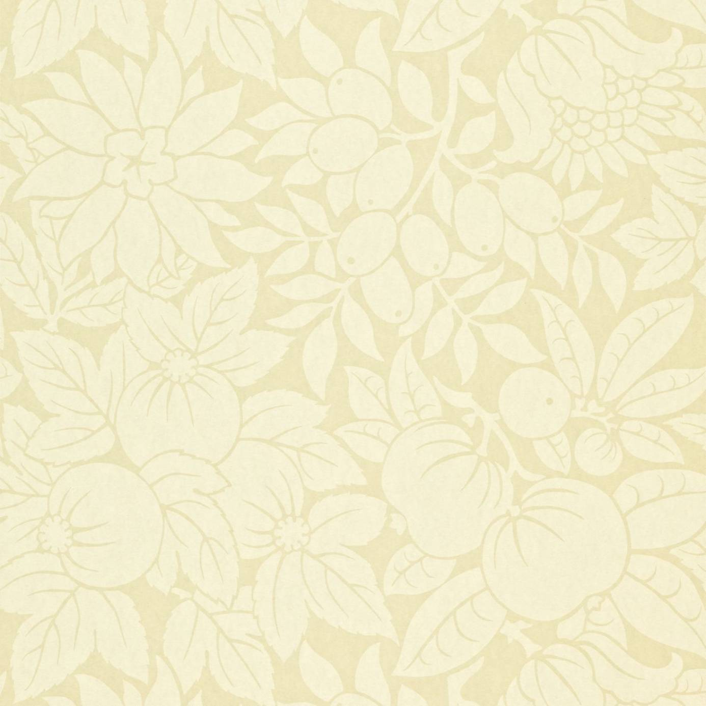 Copacabana wallpaper cream dopwcp103 sanderson for Plain white wallpaper for walls