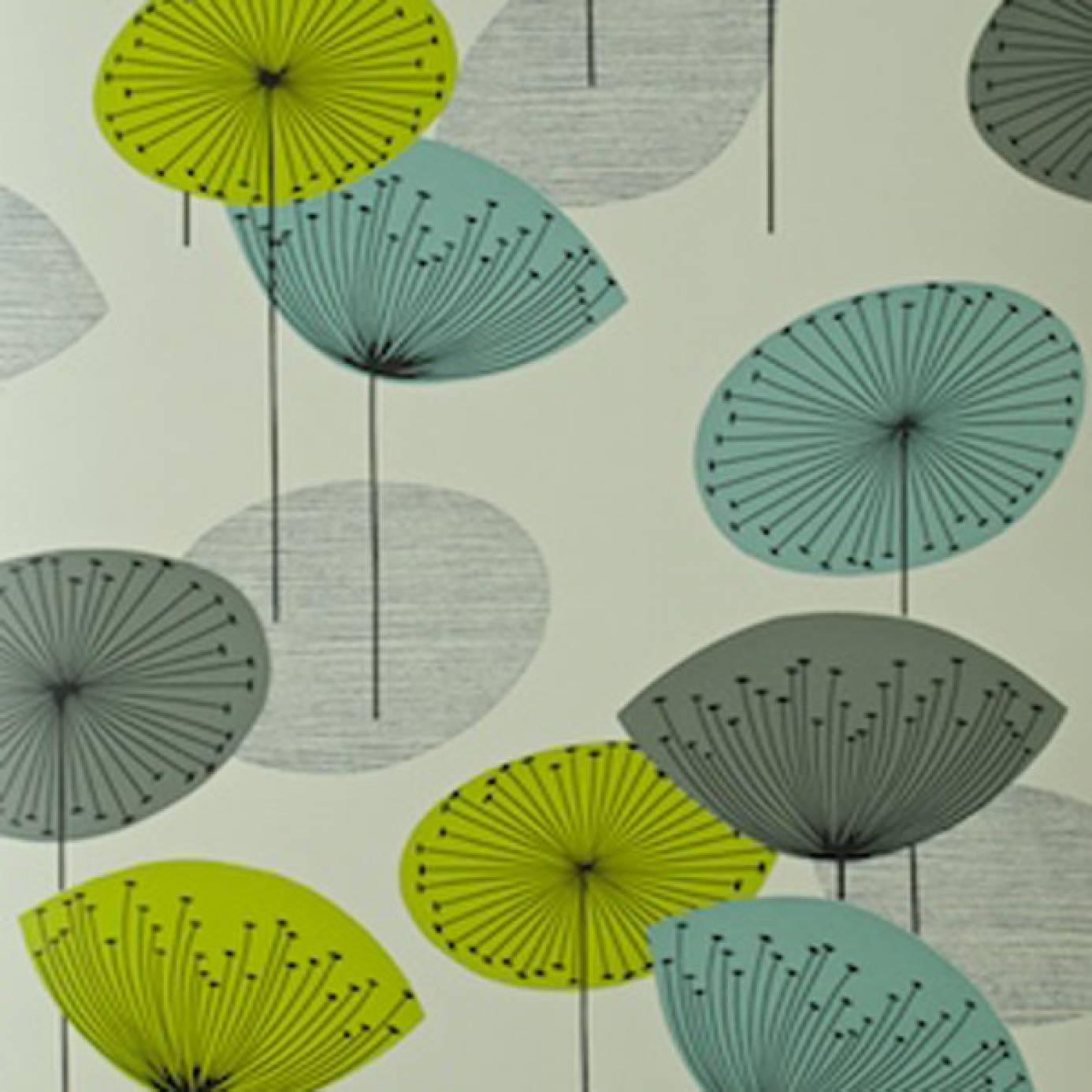 Dandelion Clocks Wallpaper Chaffinch DOPWDA104