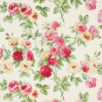Eglantine Wallpaper - Rose/Yellow
