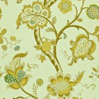Roslyn Wallpaper - Eggshell/Gold