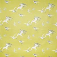 Swallows Wallpaper - Lime