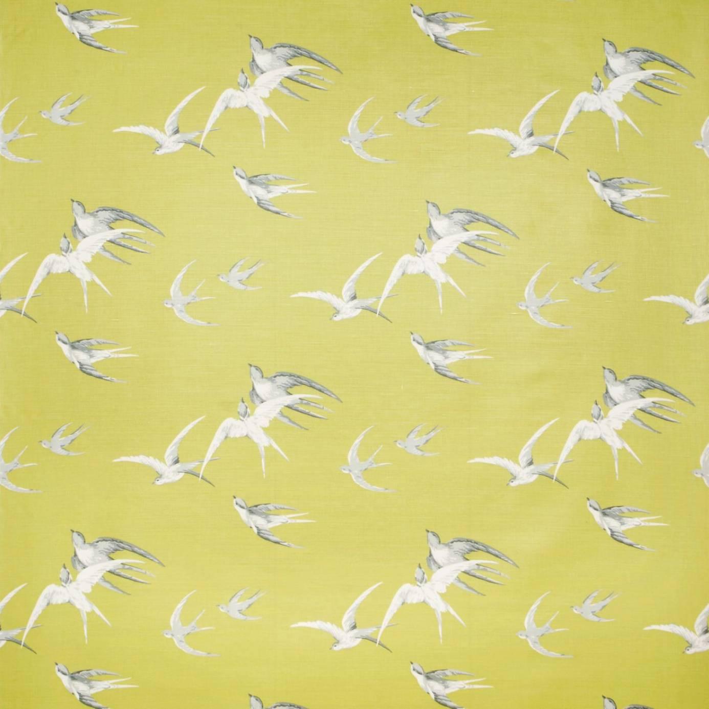 swallows wallpaper lime dviwsw101 sanderson vintage. Black Bedroom Furniture Sets. Home Design Ideas
