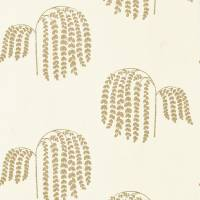 Bay Willow Wallpaper - Ivory/Gold