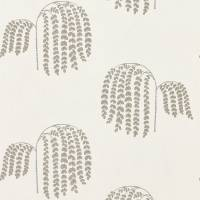 Bay Willow Wallpaper - Silver
