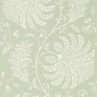 Mapperton Wallpaper - Sage/Cream