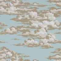 Silvi Clouds Wallpaper - English Blue