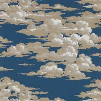 Silvi Clouds Wallpaper - Yacht Blue