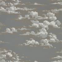 Silvi Clouds Wallpaper - Taupe Grey
