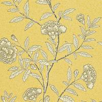 Chinese Peony Wallpaper - Yellow