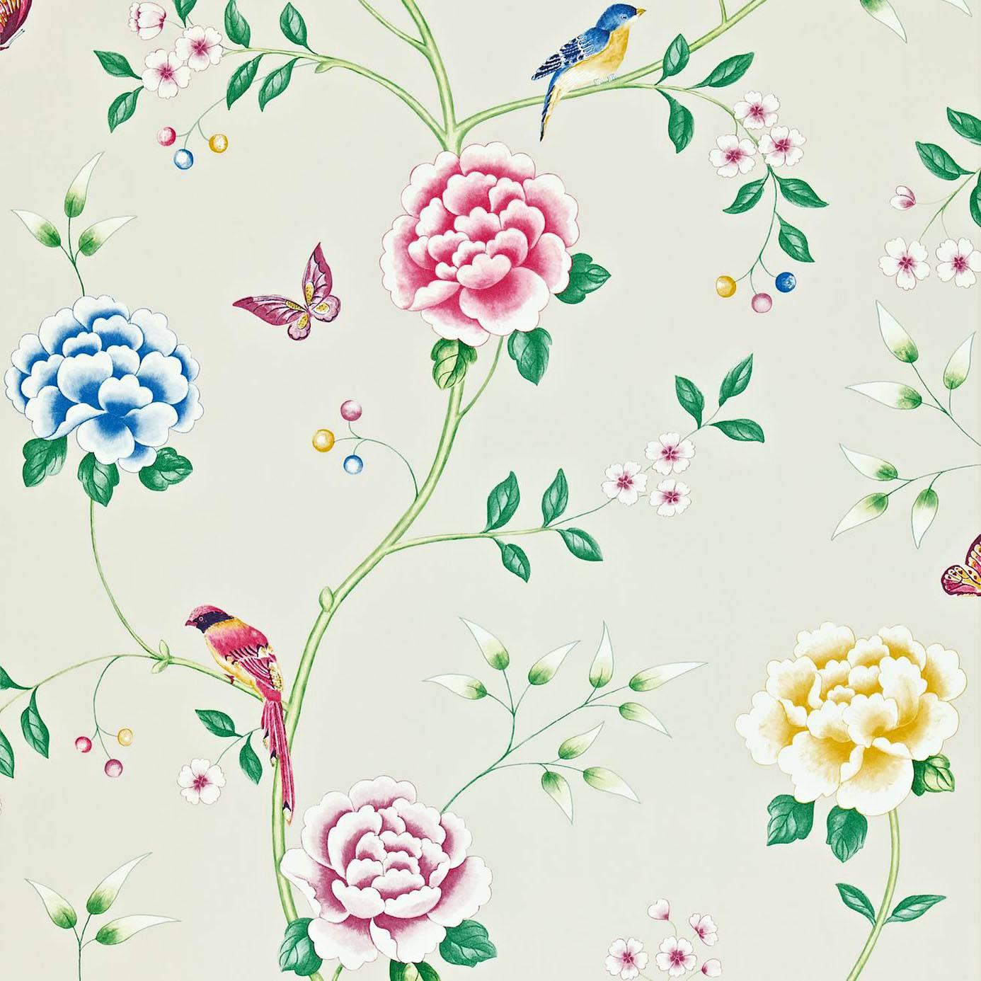 Pavilion Wallpaper Opal 212162 Sanderson Richmond