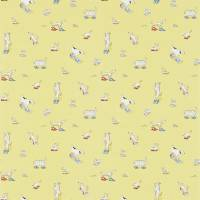 Dogs in Clogs Wallpaper - Yellow