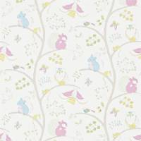 Going Batty Wallpaper - Pink/Blue