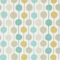 Taimi Wallpaper - Seaglass/Chalk/Honey