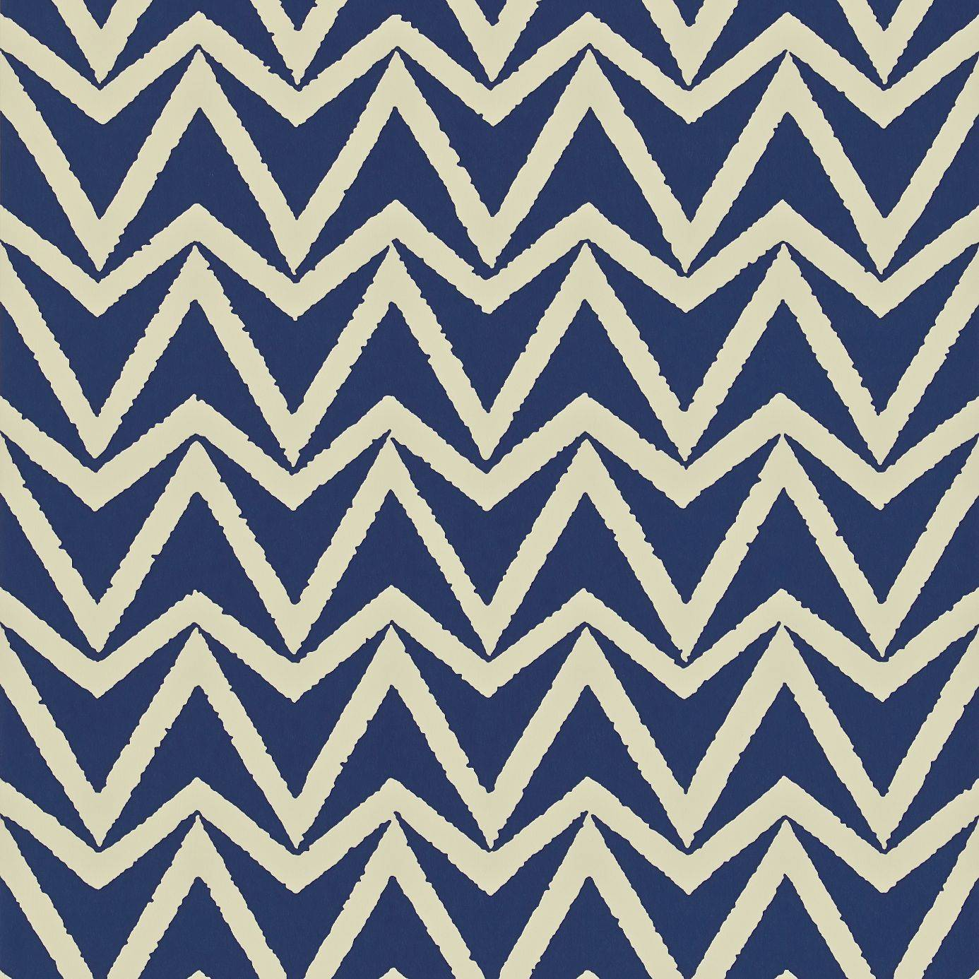 Scion Wabi Sabi Wallpapers Dhurrie Wallpaper - Indigo - 110448. Loading zoom