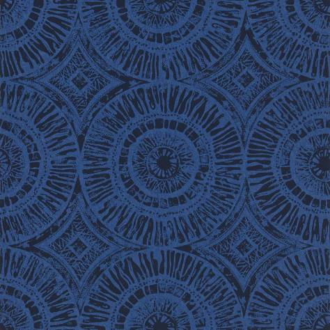 Scion Wabi Sabi Wallpapers Suvi Wallpaper - Indigo - 110468
