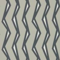 Rayo Wallpaper - Steel/Liquorice