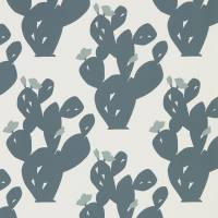 Opunita Wallpaper - Charcoal/Slate
