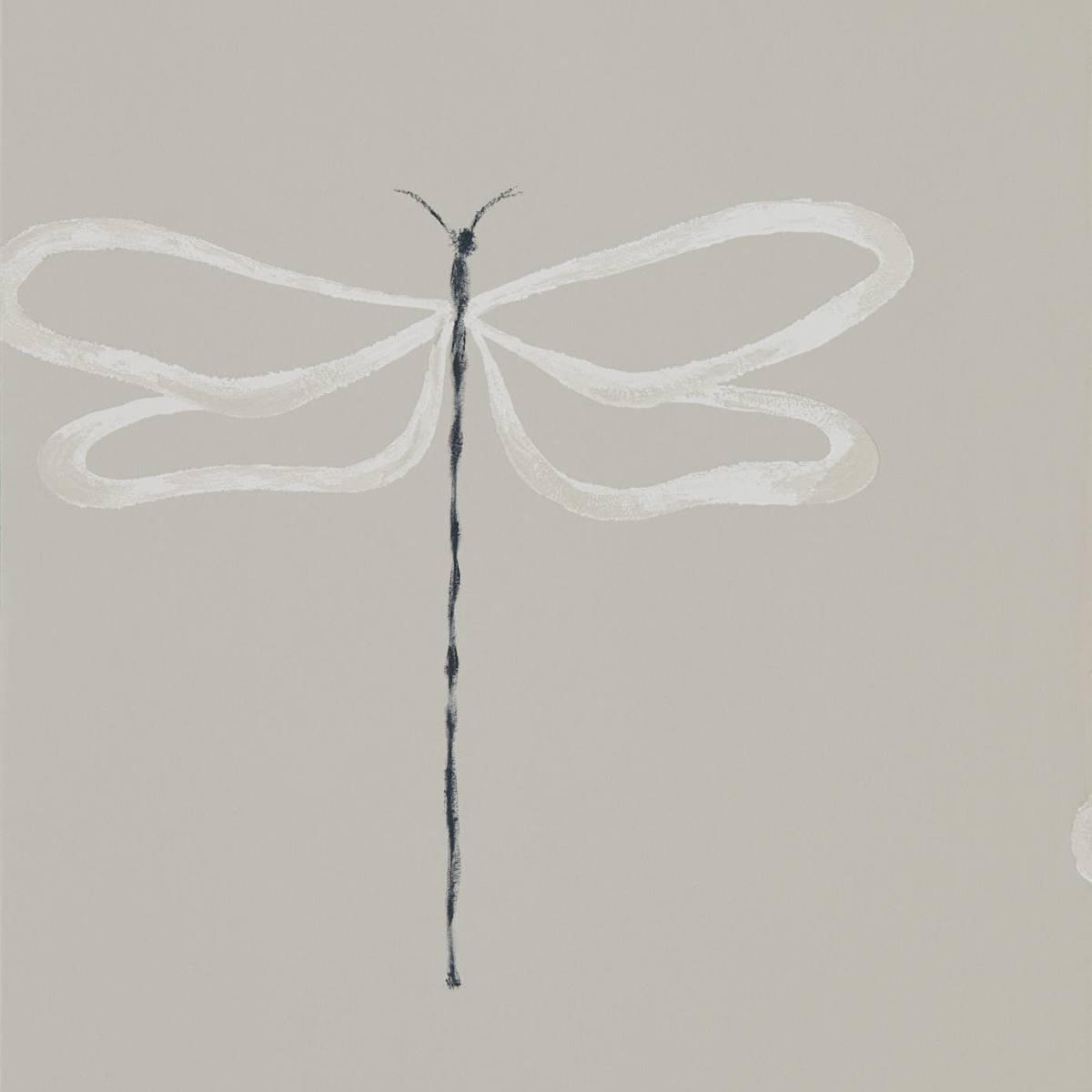 Dragonfly Wallpaper - Parchment (111933) - Scion Japandi ...