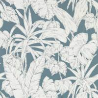 Parlour Palm Wallpaper - Charcoal