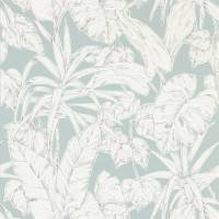 Parlour Palm Wallpaper - Fossil