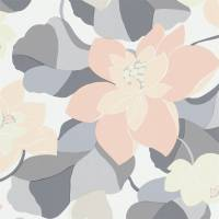 Diva Wallpaper - Pebble/Jasmine