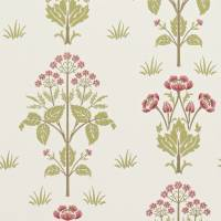 Meadow Sweet Wallpaper - Rose/Olive