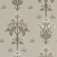 Meadow Sweet Wallpaper - Bullrush/Taupe