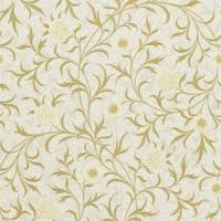 Scroll Wallpaper - Vellum/Biscuit