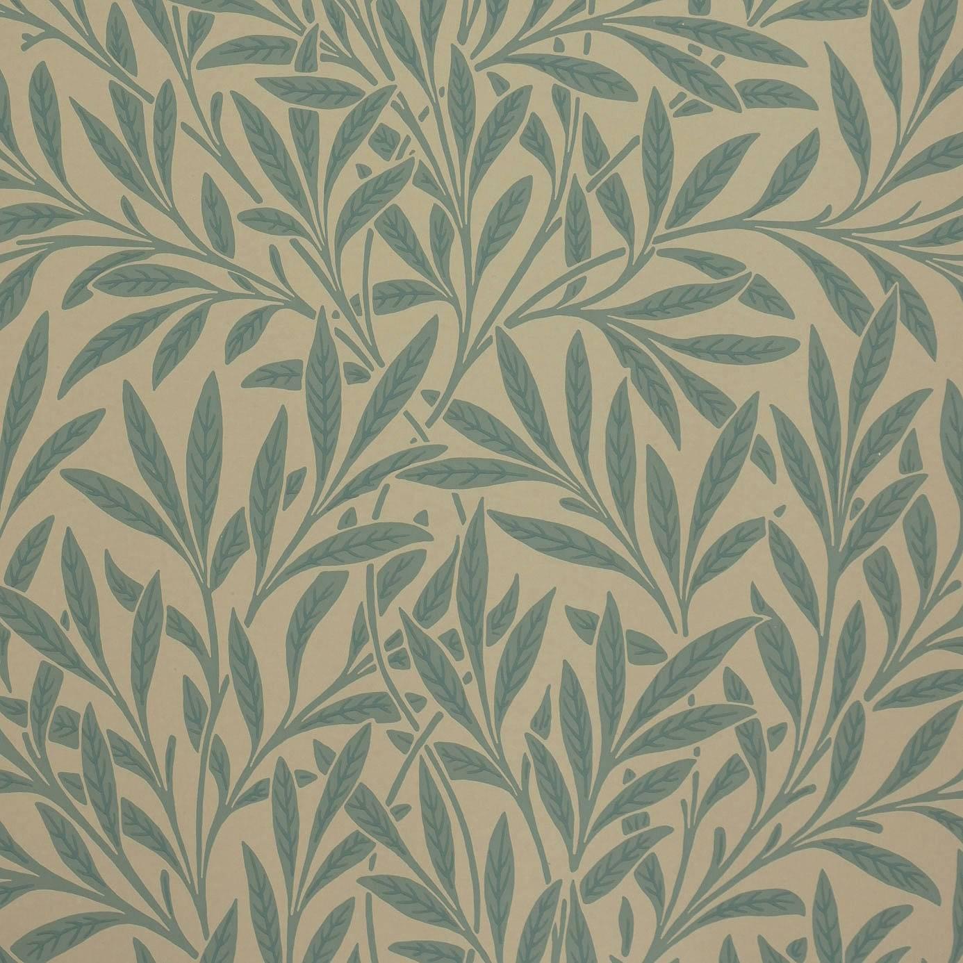 Willow Wallpaper - Slate (210382) - William Morris & Co ...