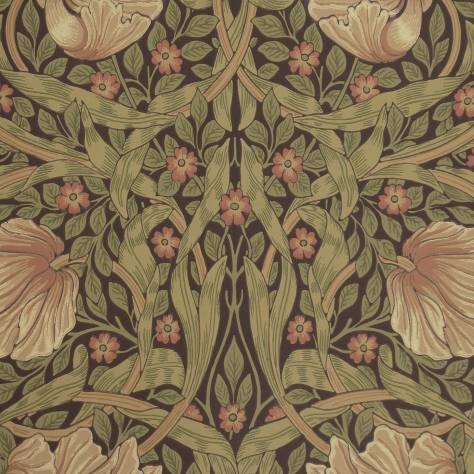 Pimpernel Wallpaper Bullrush Russet 210387 William