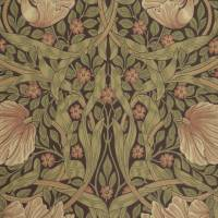 Pimpernel Wallpaper - Bullrush/Russet