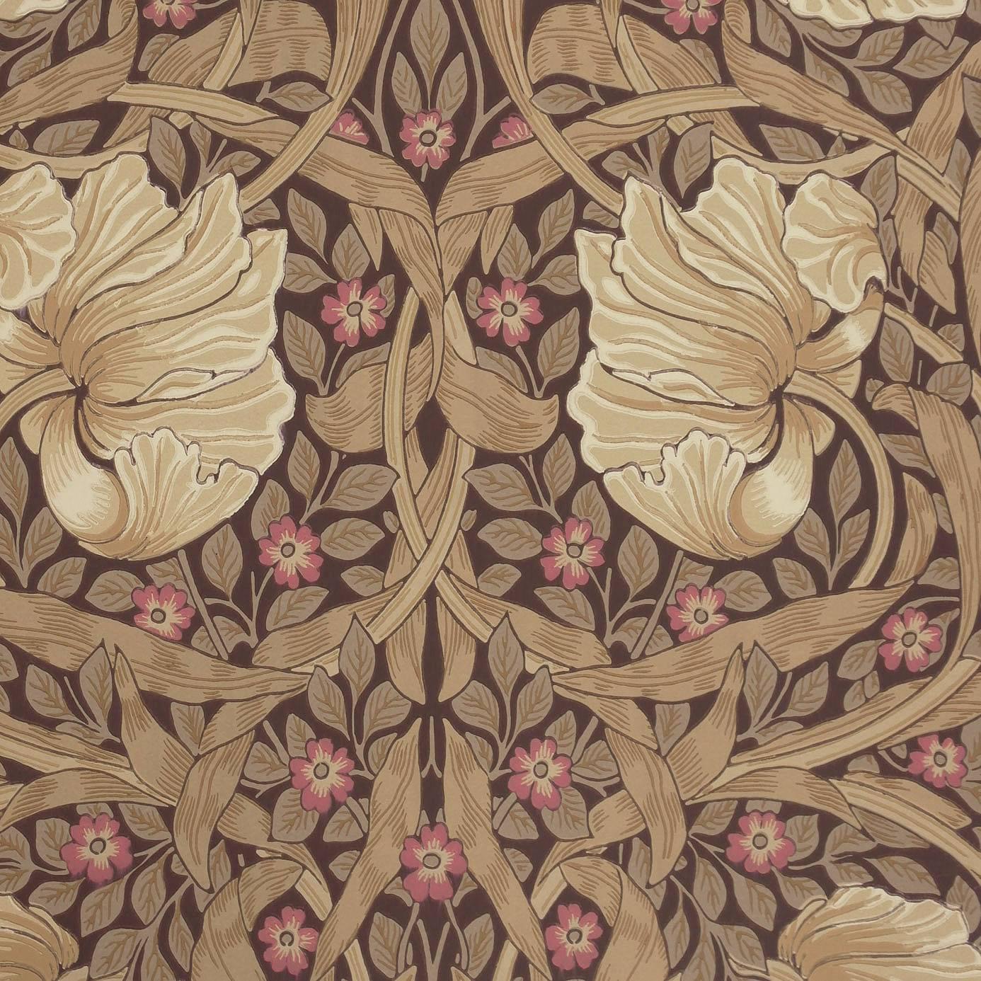 William Morris Wallpaper: Pimpernel Wallpaper