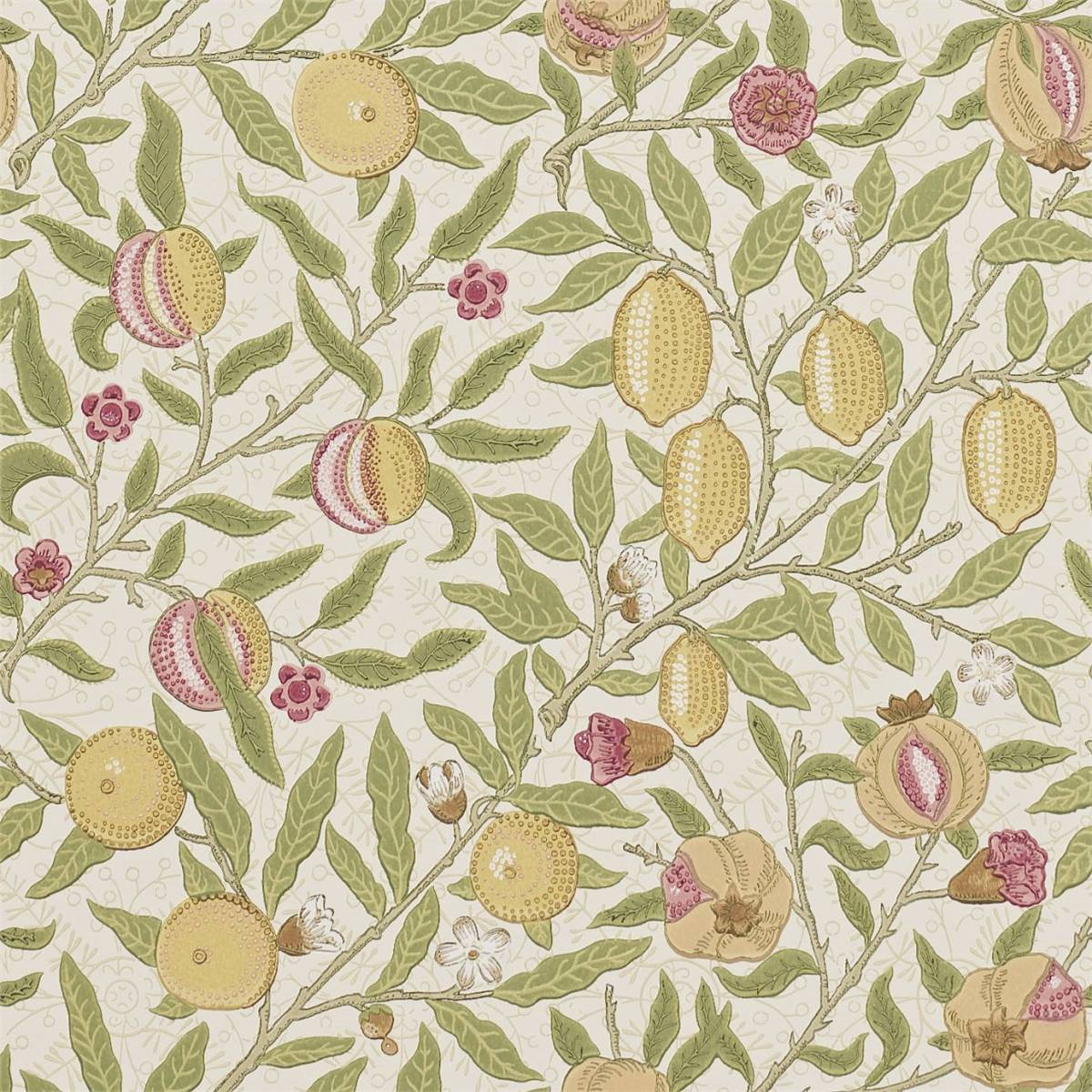 fruit wallpaper limestone artichoke 210395 william morris co archive wallpapers collection. Black Bedroom Furniture Sets. Home Design Ideas