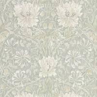 Pure Honeysuckle & Tulip Wallpaper - Grey Blue