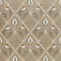 Pure Trellis Wallpaper - Gold