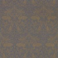 Pure Brer Rabbit Wallpaper - Ink/Gold