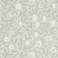 Pure Fruit Wallpaper - Grey Blue