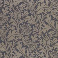 Pure Thistle Wallpaper - Black Ink