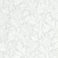 Pure Thistle Wallpaper - Grey Blue