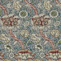 Wandle Wallpaper - Indigo / Madder