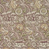 Wandle Wallpaper - Wine / Saffron