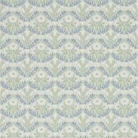 Morris Bellflower Wallpaper - Grey / Fennel