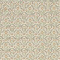Morris Bellflower Wallpaper - Saffron / Olive