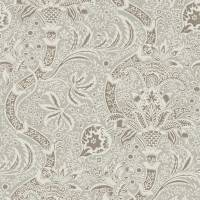Indian Wallpaper - Grey / Pewter